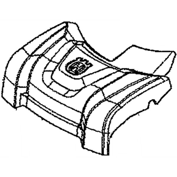 Lawn Mower Deck Front Cover 586713703