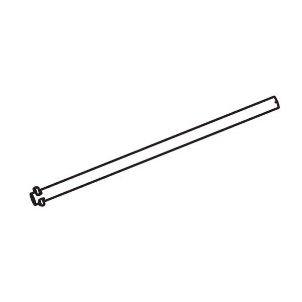 Deflector Shield Hinge Rod 595297001