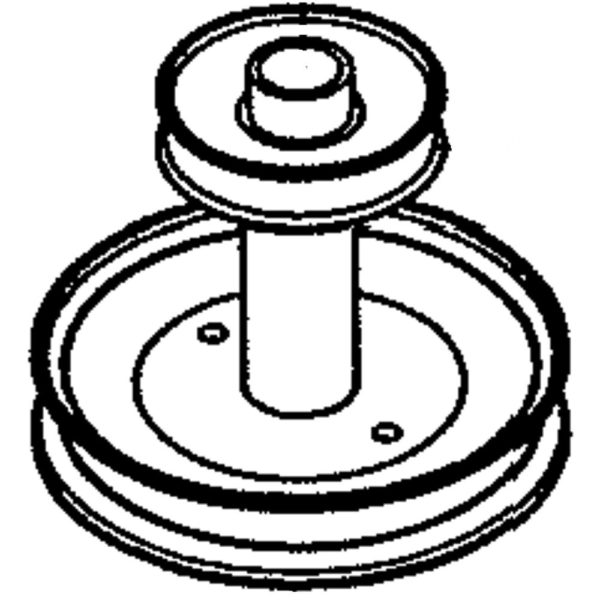 Riding Lawn Mower Engine Pulley 586728901