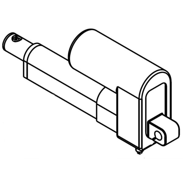 Sleeve Hitch Attachment Linear Actuator 584393401