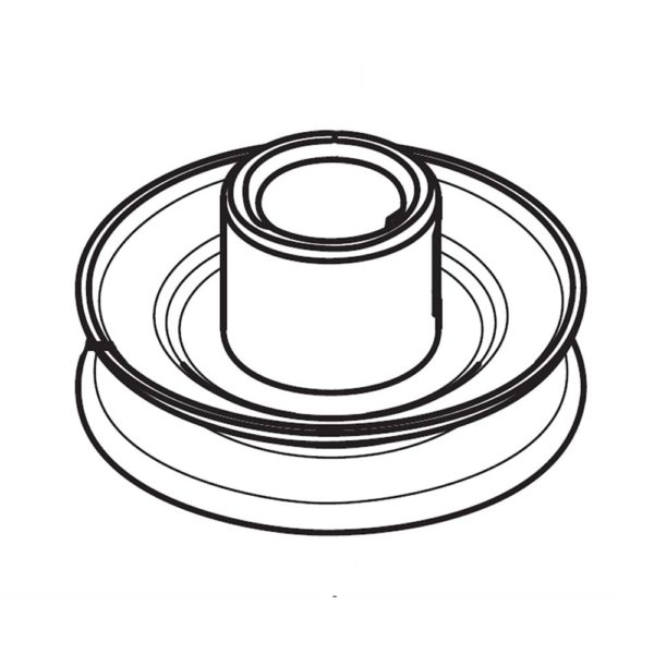 Riding Lawn Mower Engine Pulley 587537401