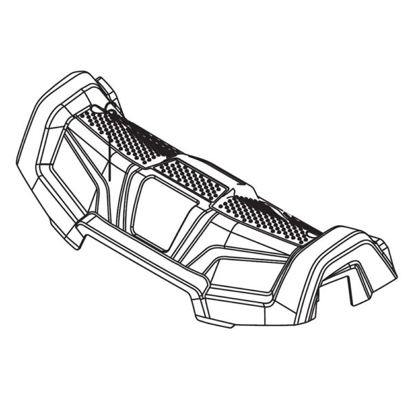 Cover Foot Rest 586703801