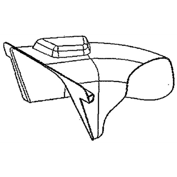 Lawn Mower Discharge Chute 582261901